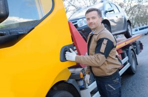Surrey junk car recycling driver